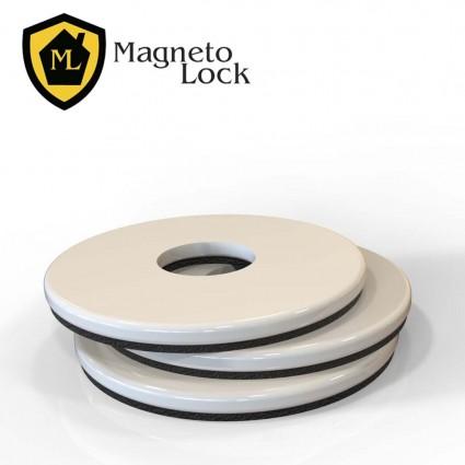 MagnetoLock Posicionadores-Blanco